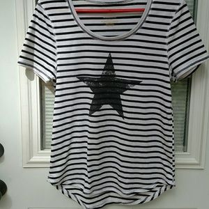 Ladies striped top